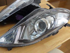 ヘッドライト黄ばみ除去ヘッドライトスチーマードリームコート施工店募集 ホンダエディックス